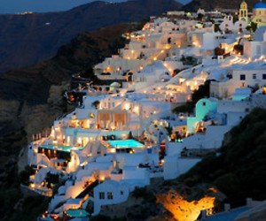 bright, Greece, and light image