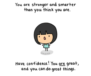 strong, confidence, and great image