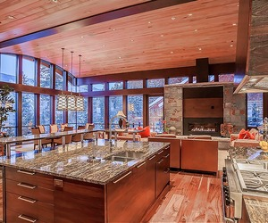 luxury, kitchen, and mansion image