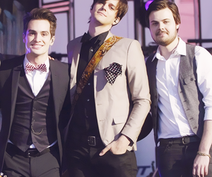 panic! at the disco, patd, and brendon urie image
