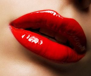 lips, girl, and pretty image