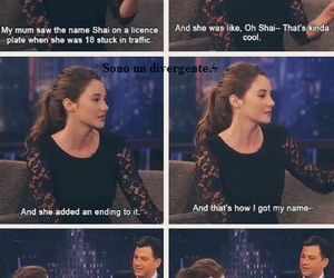 Shailene Woodley, divergent, and funny image