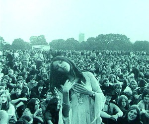 hippie, woodstock, and festival image