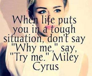 quotes, miley cyrus, and life image