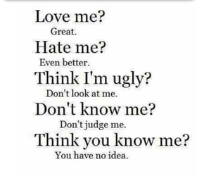 hate, quotes, and ugly image