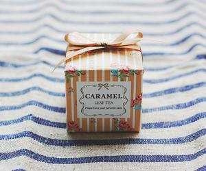 caramel, tea, and vintage image