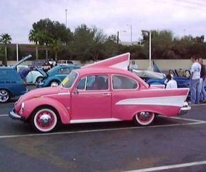 1950's, awesome, and pink image