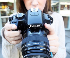 canon, photography, and girl image