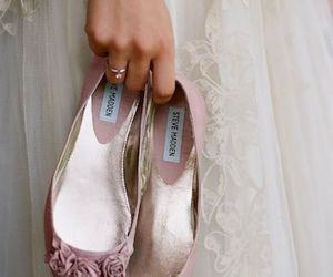 shoes, white, and dress image