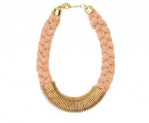 gold necklace, necklace, and pretty necklace image