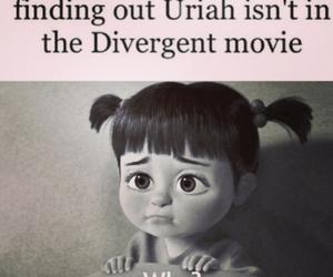 divergent, sad, and uriah image