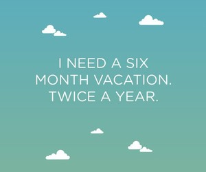 vacation, funny, and quotes image
