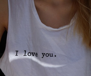 love, girl, and I Love You image