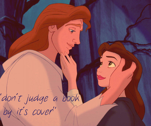 beauty and the beast, belle, and love image