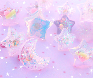 cute, glitter, and kawaii image