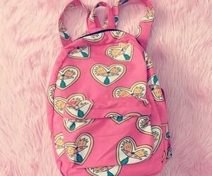 pink, arnold, and bag image