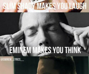 cry, eminem, and laugh image