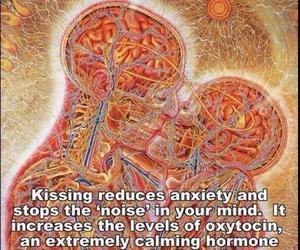 kissing, kiss, and peace image
