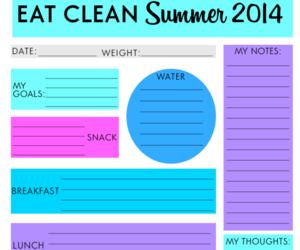 fitness, planner, and downloadable image