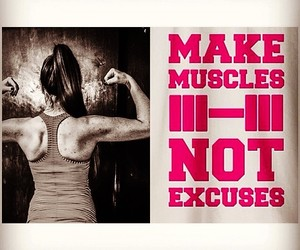 excuse, gym, and inspire image