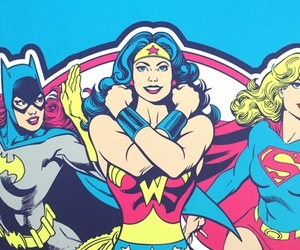 girl power, power, and wonder woman image