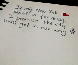 if only, new york, and a great big world image