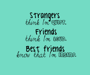 friends, strangers, and quote image