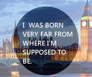 london, quote, and Dream image