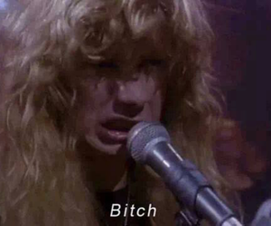 bitch, megadeth, and dave mustaine image