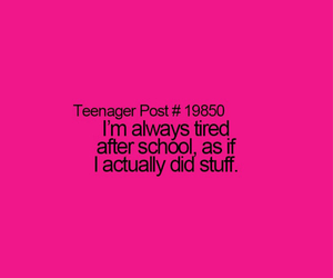 quote, school, and teenager post image