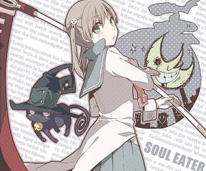 soul eater, anime, and maka albarn image