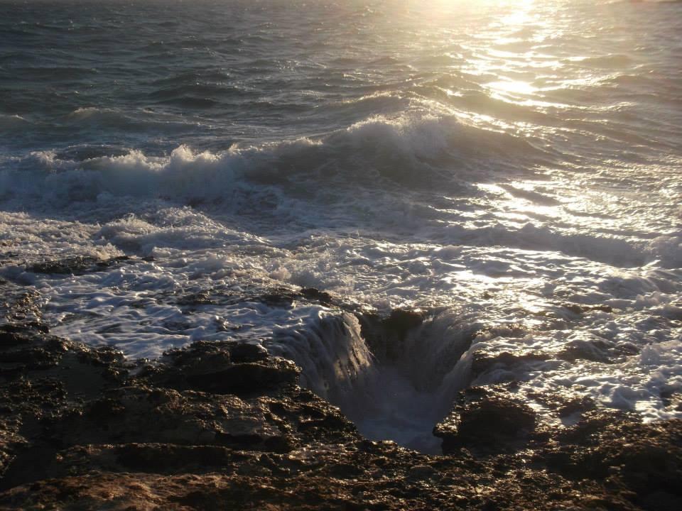 paros greece rock and sea image