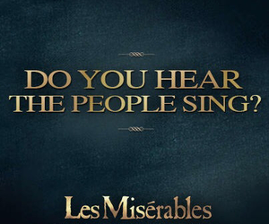 canzone, lesmis, and rabbia image
