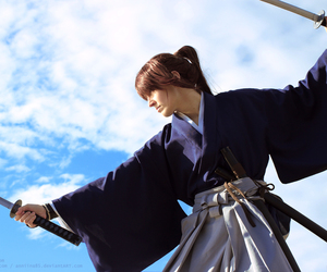 cosplay, himura kenshin, and samurai x image