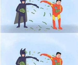batman, spiderman, and funny image
