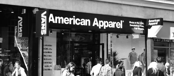 She Looks So Perfect Standing There In My American Apparel Underwear