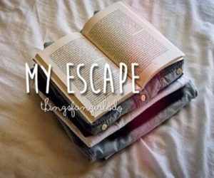 book, escape, and my image