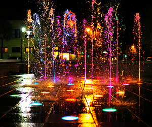 water, light, and colors image