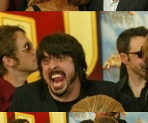 dave, dave grohl, and funny image