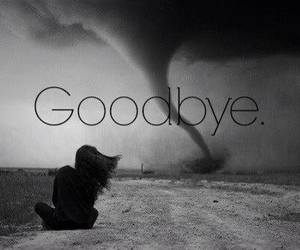 goodbye, depressed, and black and white image