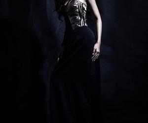 black, dress, and girl power image