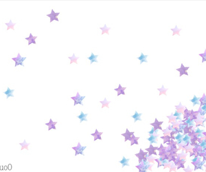 kawaii, pink, and star image