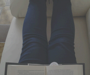 alone, book, and girl image