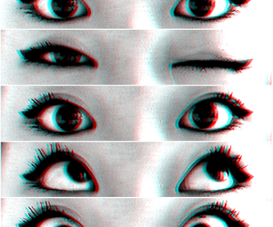 3d, black, and eyeliner image