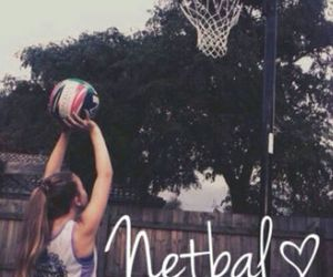 netball, sport, and love image