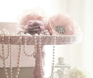 shabby chic, pink, and pretty image