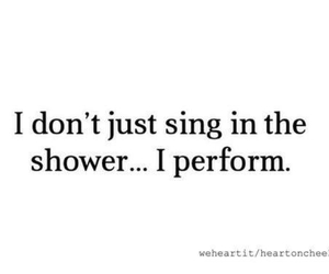 sing, perform, and quote image