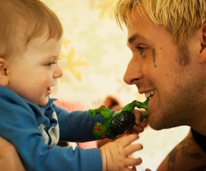 ryan gosling, cute, and baby image