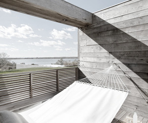 architecture, balcony, and bedroom image