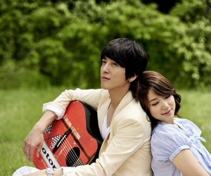 heartstrings and couple image